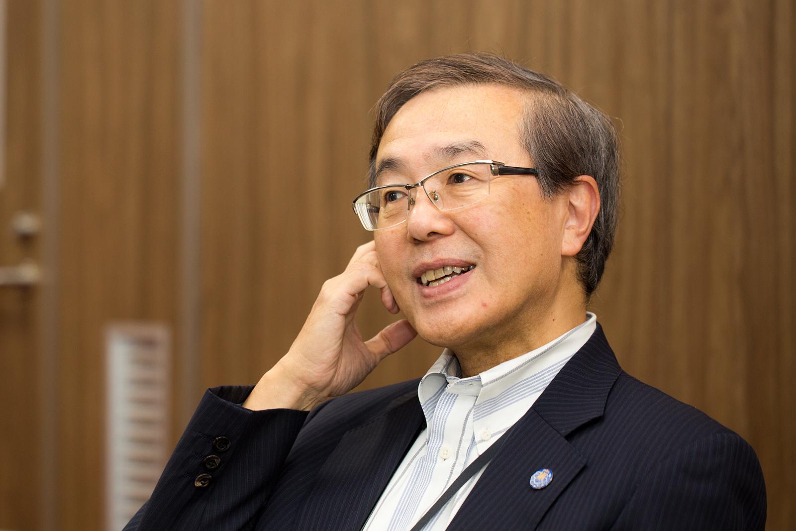 弘前大学佐藤学長