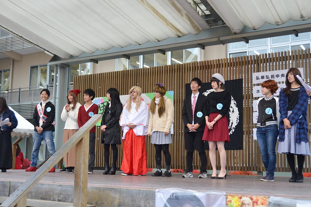 弘前大学の学祭「男だらけの女装コンテスト」2017