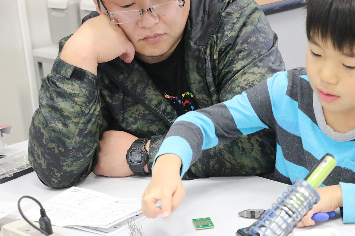 弘大理工学部 実験・科学体験ブース