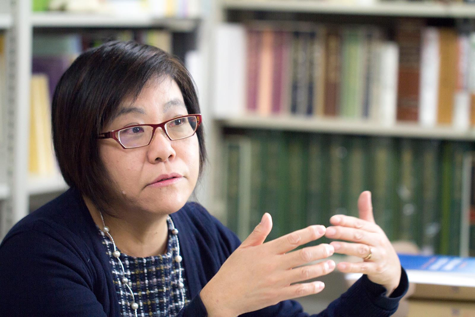 民俗学実習 山田嚴子教授