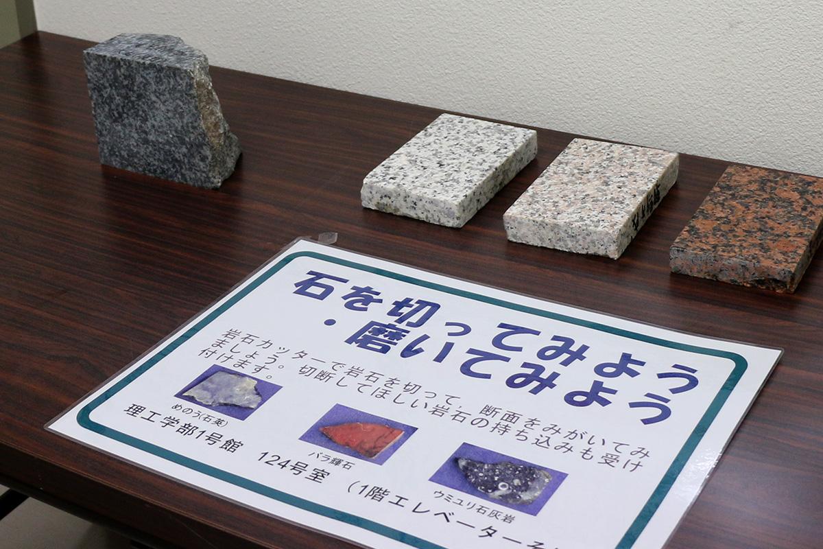 弘前大学総合文化祭 展示
