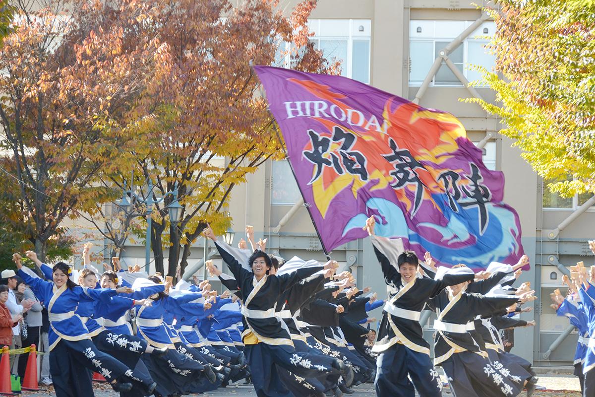 弘前大学よさこいサークル「HIRODAI焔舞陣」