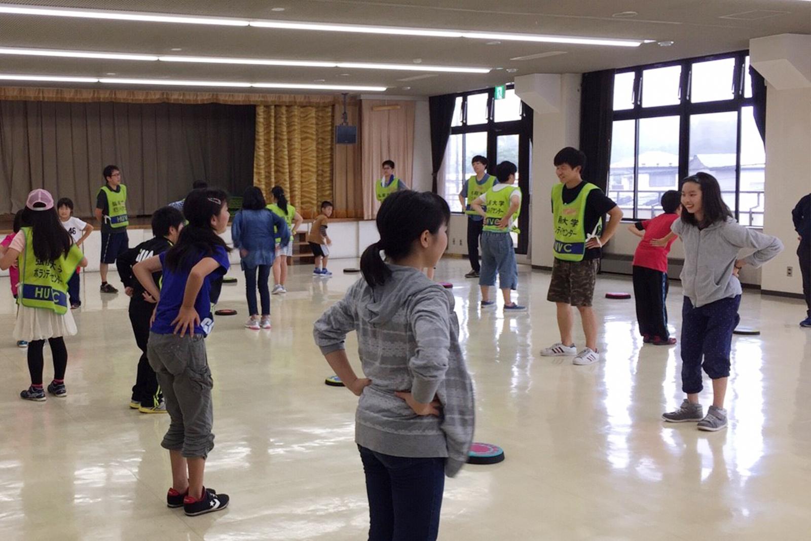 岩手県野田村の子ども達と宿泊学習会を開催