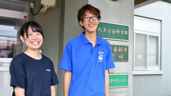 鎌田翔至さん、今村星さん