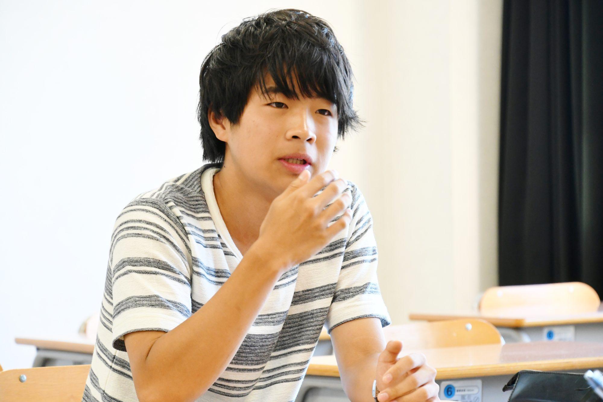 弘前大学農学生命科学部1年