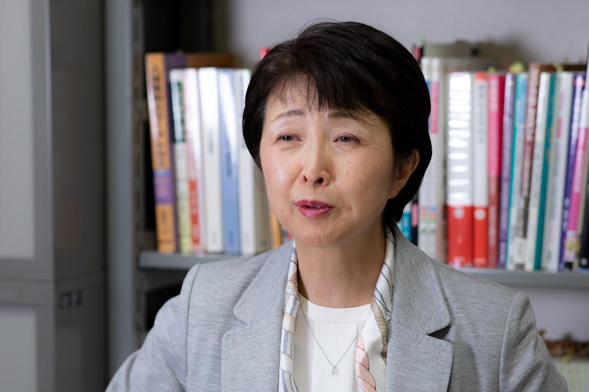 弘前大学 教育学部 養護教論養成課程 葛西敦子教授