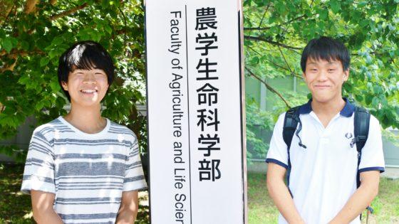 浅川正樹さん、福島宏太さん