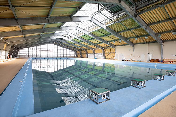 弘前大学水泳部 学園町キャンパスの施設