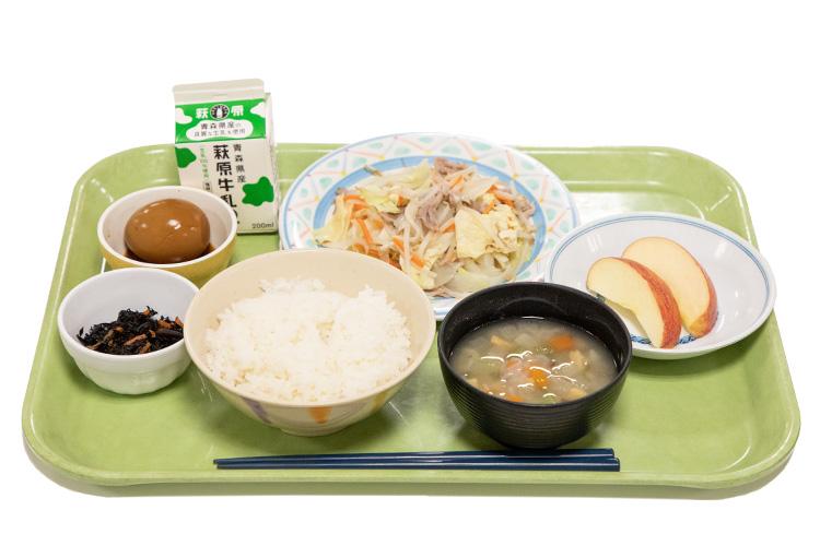 源たれ塩野菜炒め定食