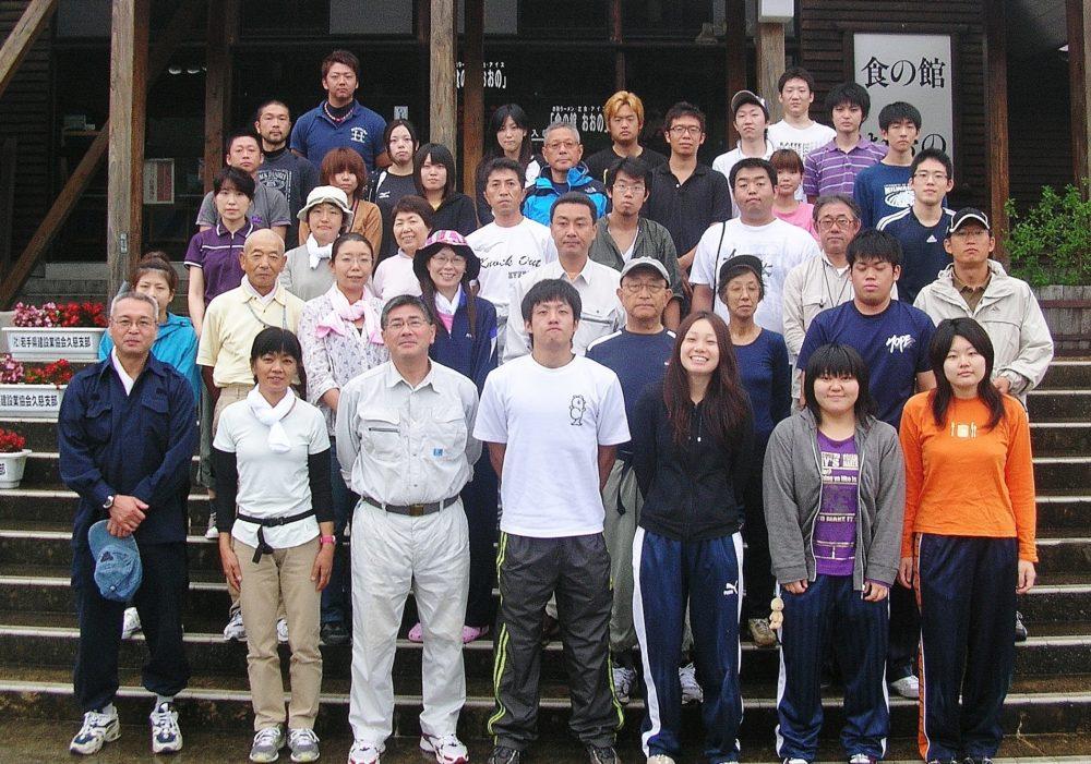 野田村ボランティア集合写真