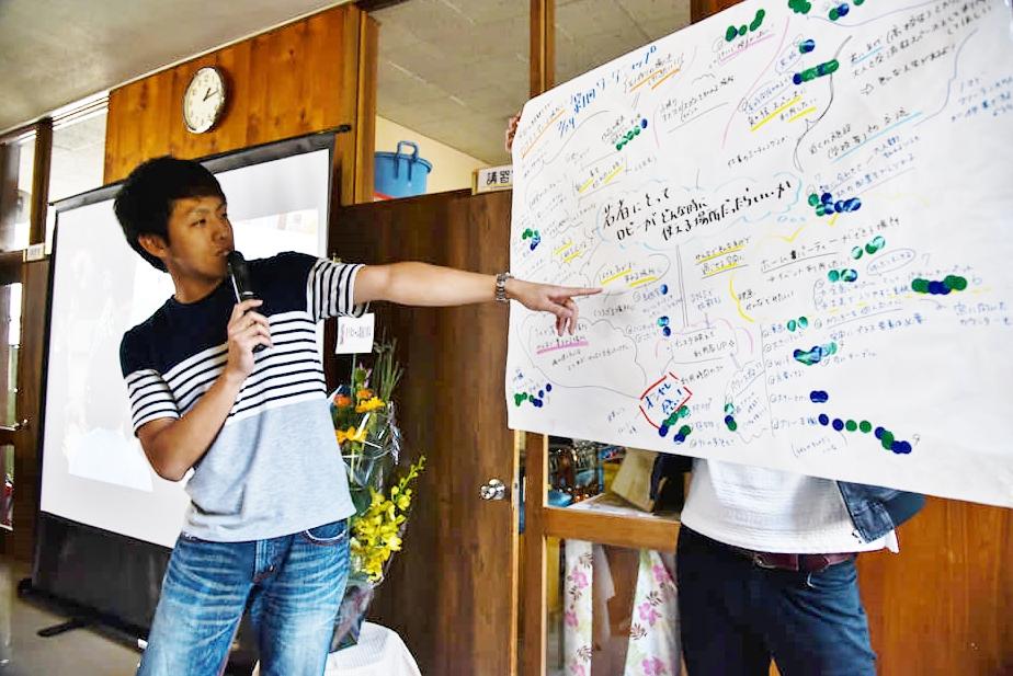 青少年ホームDIYの完成発表会