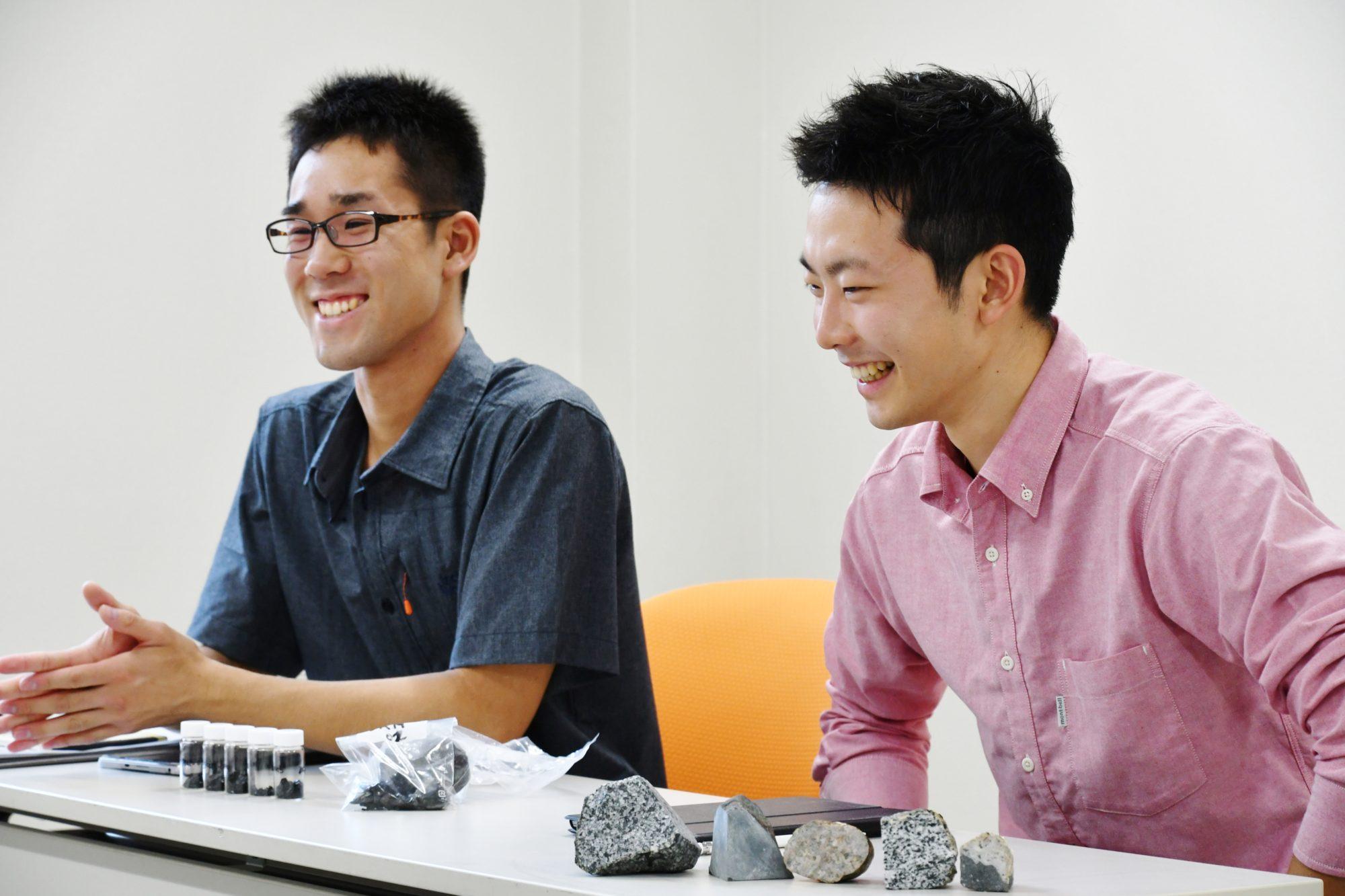 沼田さん(左)中尾さん(右)
