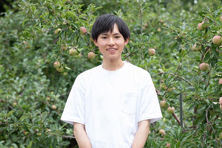 農学生命科学部2年 神 昂輝さん