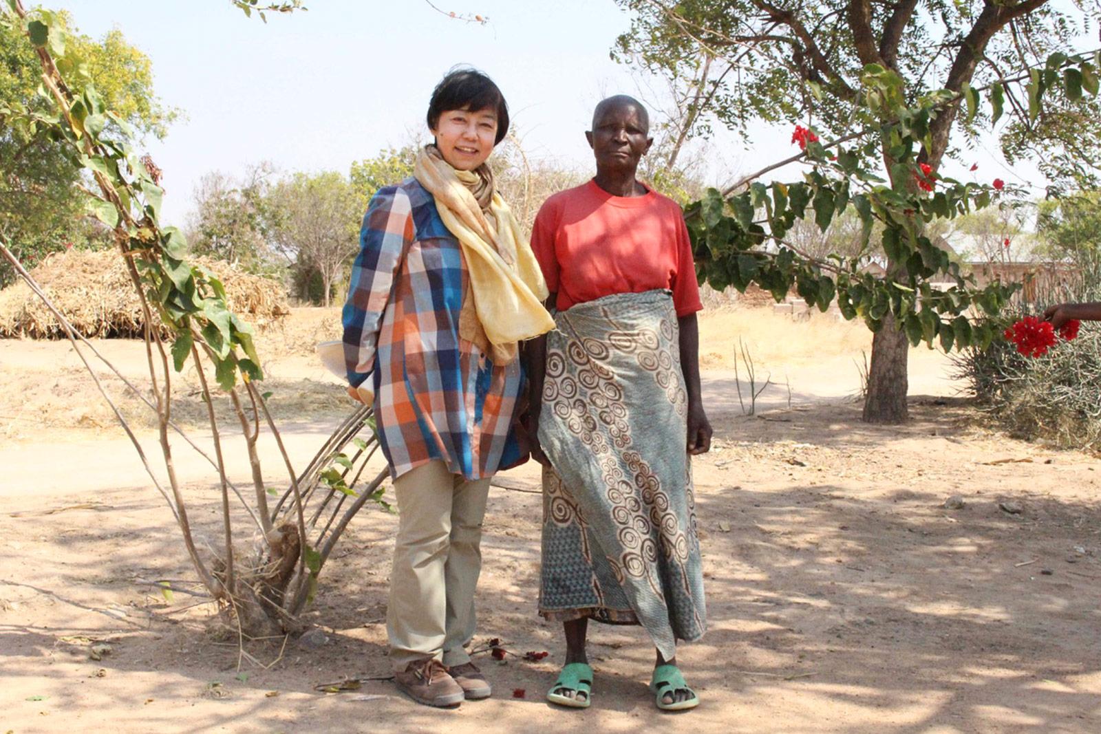タンザニア ドドマ州の農村調査共有林調査
