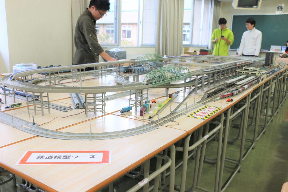 鉄道研究会展示