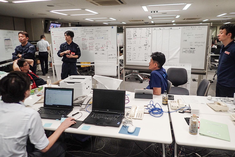 北海道胆振東部地震が発生した際の「青森県 DMAT調整本部」