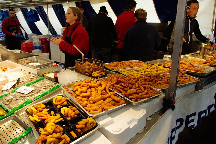 オランダの青空市場