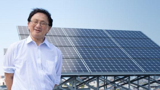 最先端研究紹介「再生可能エネルギー」<br>これからの社会に不可欠な再生可能エネルギー<br>太陽光発電の研究を豪雪地帯・青森から
